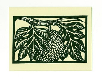 6 card set Ulu - Breadfruit note cards