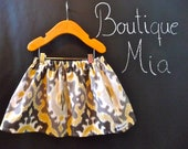 BUY 2 get 1 FREE - Skirt - Maasai Mara - Ikat - Pick the size Newborn up to 14 Years by Boutique Mia