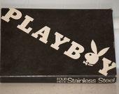 4 piece vintage playboy bar set