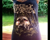 SALE: Bullet For My Valentine Reconstructed Corset Tank- Small