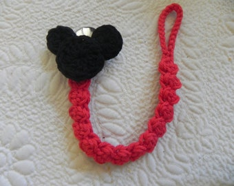 Mickey Mouse Paci..Pacifier Clip