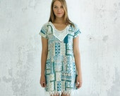 southwest print cotton summer dress Supayana Choose from X-Small, Small, Medium, or Large