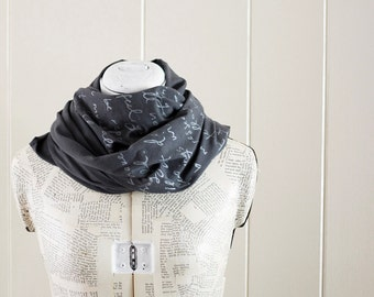 Mr. Darcy proposal scarf - Original - Jane Austen - you choose ink color