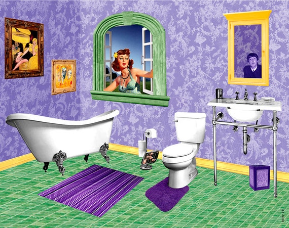 Items similar to she came in through the bathroom window for She came into the bathroom window