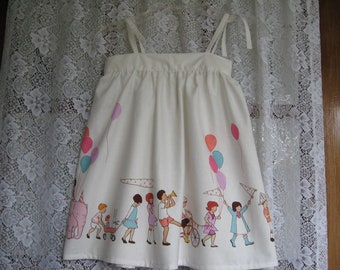 Sarah Jane Toddler Sun Dress Print Custom Order