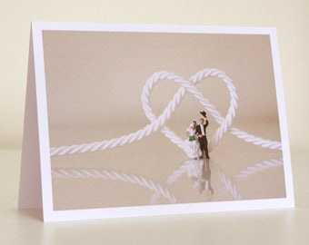 026 - tying the knot - greeting card