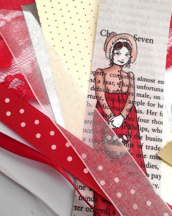 Create your own Jane Austen bookmark