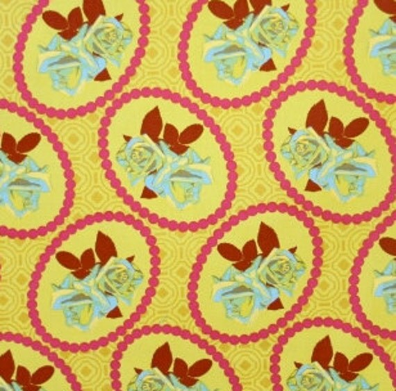 Garden Party rose fabric, by Anna Maria Horner FQ