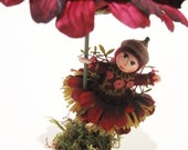 Miniature Flower Pot Fairy Art Doll
