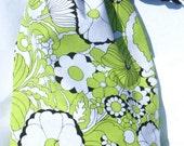 Cricut Expressin Cord Bag Green Floral Design