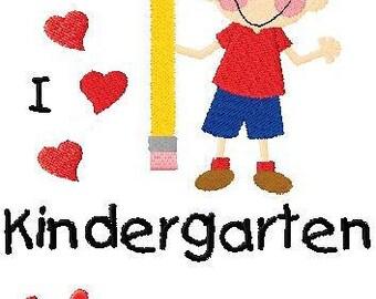 Custom Personalized Boys T Shirt Back To School First Day of School Kindergarten