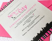 Sex and the City Bridal Shower Invitation - Design Fee