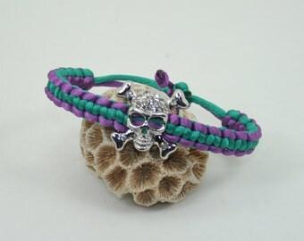 Skull friendship wristband
