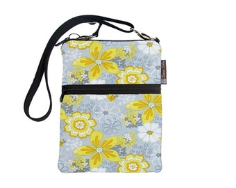 Kindle Case / Kindle Fire Cover / Kindle Touch Bag / Nook Bag / Padded eReader Case / TRAVEL BAG  fits WITH Cover Oopsie Daisy Fabric
