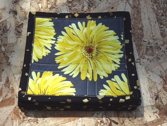 Quilted Modern Coasters - Free Spirit Daisy - Set of 4