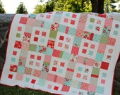 Quilt Pattern.....Layer Cake and Fat Quarter friendly, ..Baby and Large Lap or Coverlet size, City Blocks