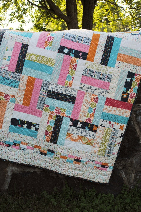 Pdf Quilt Pattern Layer Cake Jelly Roll And Fat By