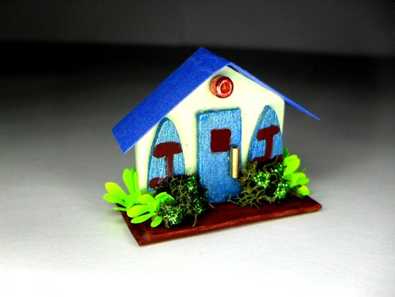 Decorative Arts Miniatures Houses Magnet