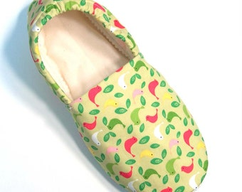 Birds Slippers Child L
