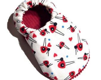 Ladybugs Soft Soled Baby Shoes 18-24mo