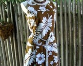 RESERVED for TRACY SPRINGFIELD Summer's Here vintage 60's romper/swimsuit