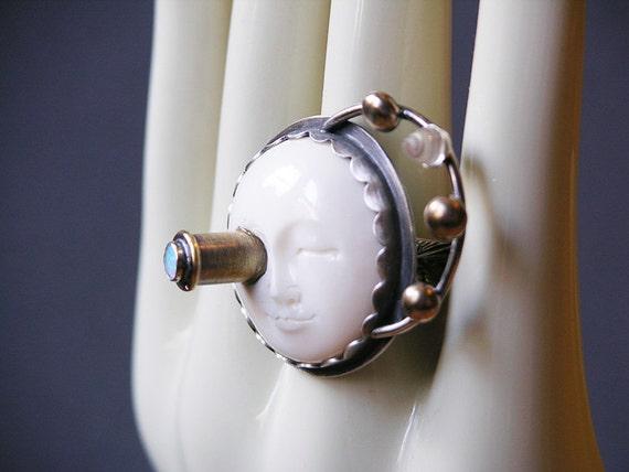 Custom Order For moonchaser66 Rocket Man Ring Do Not Buy