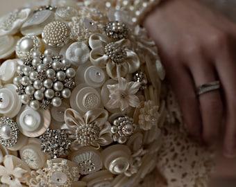 The Duchess Button Bouquet