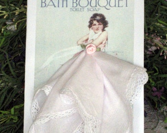Bath Boutique Hanky Card