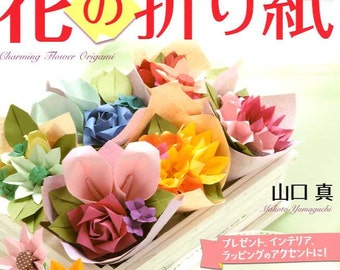 Charming Flower Origami - Japanese Craft Book