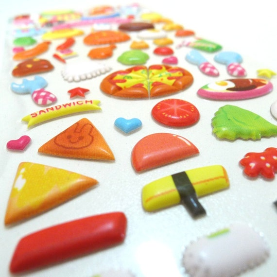 Cute Puffy Japanese Sticker - My Little Snack Bar (1203) by Mind Wave Inc