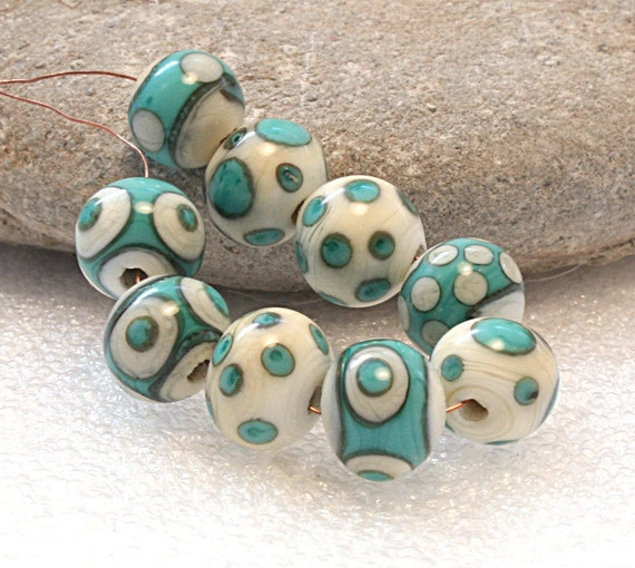 CLEARANCE Lampwork Art Beads by Jeanniesbeads jpg 1650