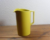 Vintage Melmac Pitcher in Goldenrod 1972