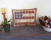 YoYo Flag Pillow--Americana