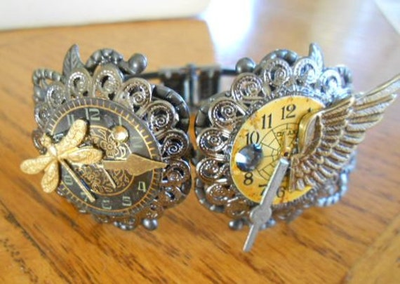 Vintage Watch parts bracelet