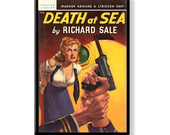 DEATH AT SEA - Pulp Fridge Magnet
