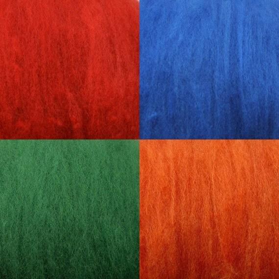 2 oz Wool Four-Color Sampler Pack