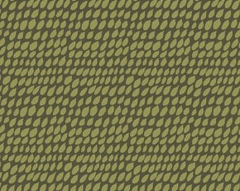 SALE - Parson Gray - Seven Wonders - By David Butler - Rain - Moss - One Yard - 6.50 Dollars