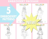 Grab Your Mask and Cape and Let's be Heroes  Embroidery Pattern Package