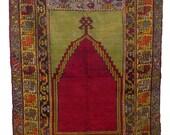 Vintage Avanos Turkish Carpet