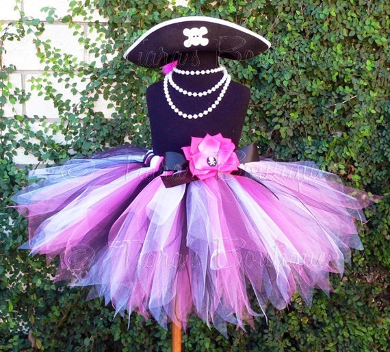 Pink And White Pirate Costume Pink Black White Pirate Pixie
