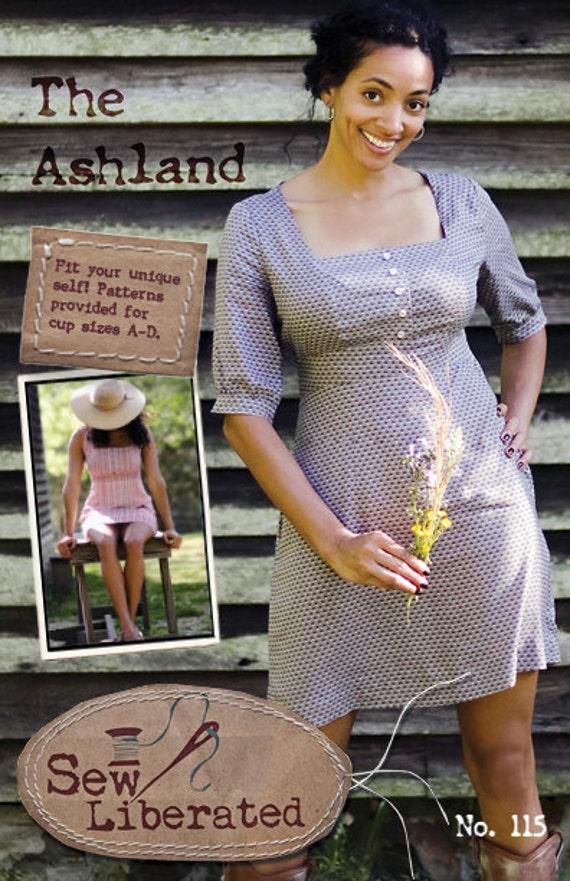 The Ashland Dress Digital PDF Sewing Pattern