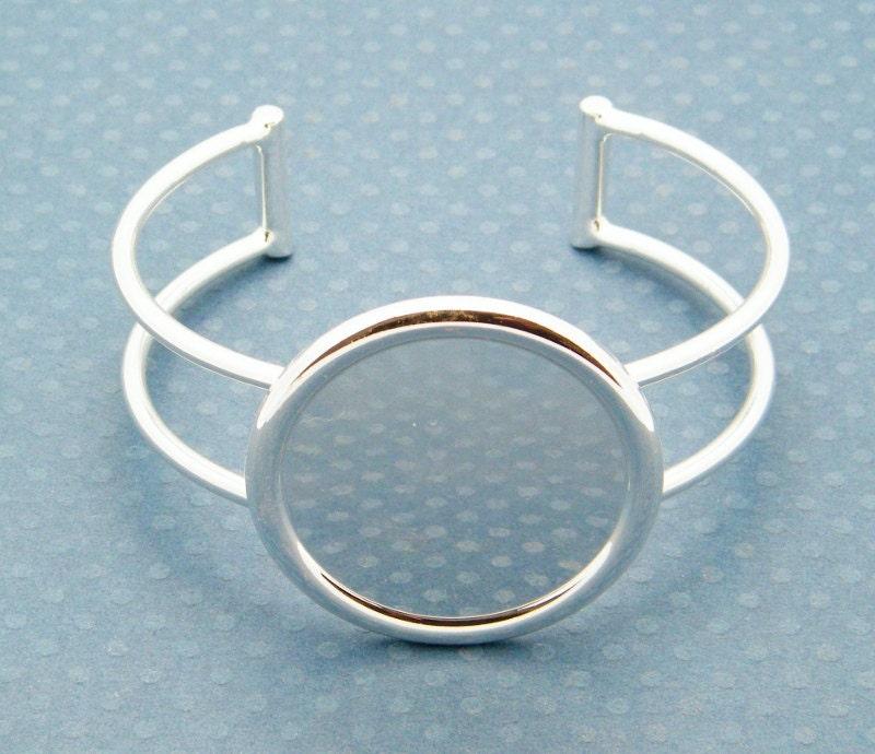 Plastic Cuff Bracelet Blanks Cuff Bracelet Blank Silver