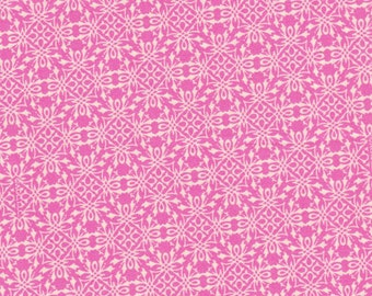 Pink Pretty Design Quilting Fabric, 100% Cotton. Sale, Was 5.50, Now 3.95 By The Yard, Last Chance
