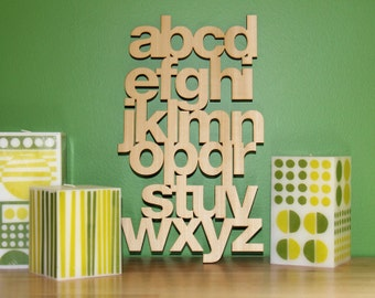 Lowercase Poplar Helvetica