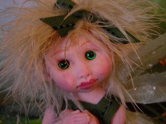 Fairy Fairies Fae pixie elf  Angels  OOAK Fantasy Art Doll By Lori Schroeder  177pk
