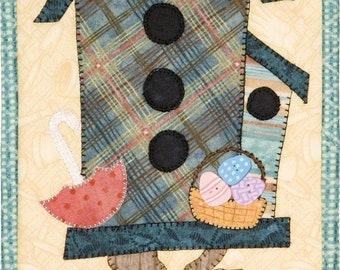 Spring Fling Birdhouse Monthly Mini Patch Abilities Quilt Sewing Pattern