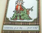 Birthday Card Humorous Hunting