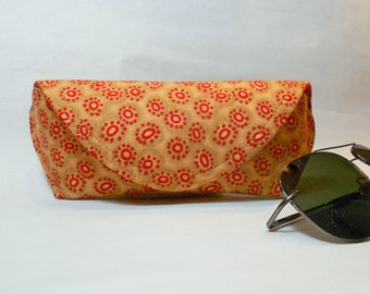 Eyeglass Case or Sunglass Case Large - Center Stone