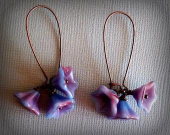 Blue Raspberry Sweet and Simple Earrings