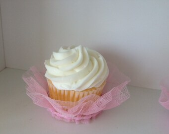 Birthday Decoration Cupcake Tutu Cupcake Wrapper for Birthday Party or Ballerina Party for Ballet Set of Six